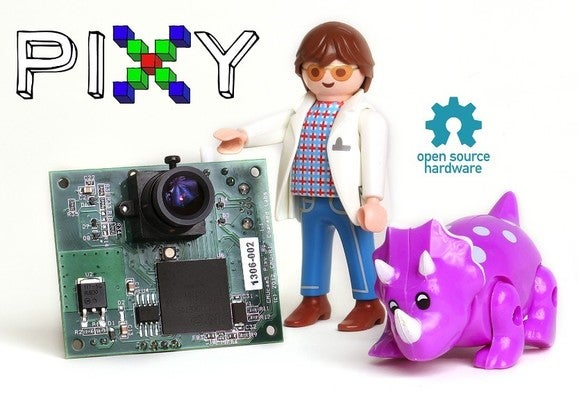 Charmed Labs' and Carnegie Mellon's Pixy open-source robot camera